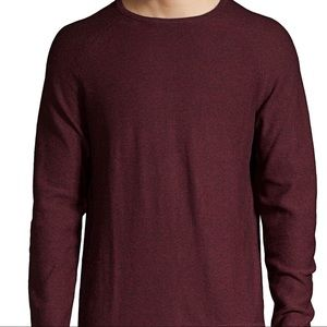 Soft men's crew neck sweater